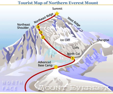 Tourist-Map-of-Northern-Everest-Mount